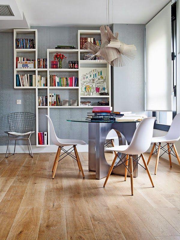 A feminine and unique mini loft in Madrid. http://www.architectureartdesigns.com/feminine-unique-mini-loft-madrid/
