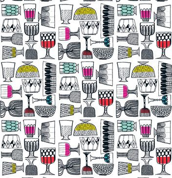 KIPPIS Upholstery Fabric by Marimekko - eclectic - upholstery fabric - - by Textile Arts
