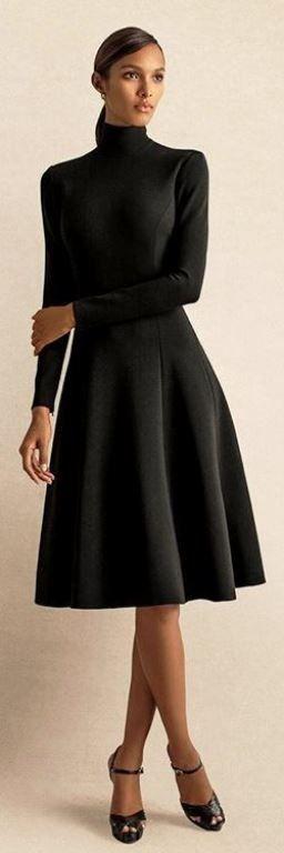 30 идеи за рокля с поло яка