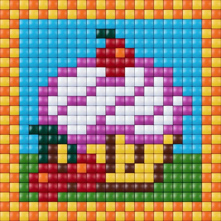 #pixelhobby #cupcake