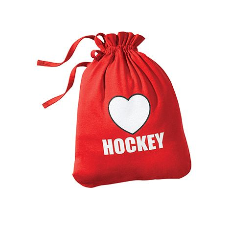 Product: I love Hockey Pouch. For the hockey fan in your life.