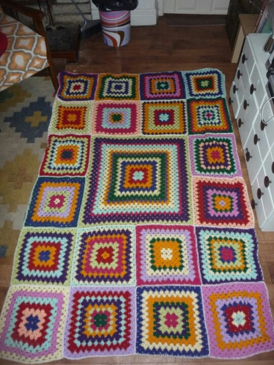 Crosiet blanket