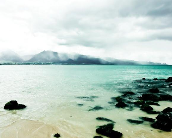 stormy beach pallette