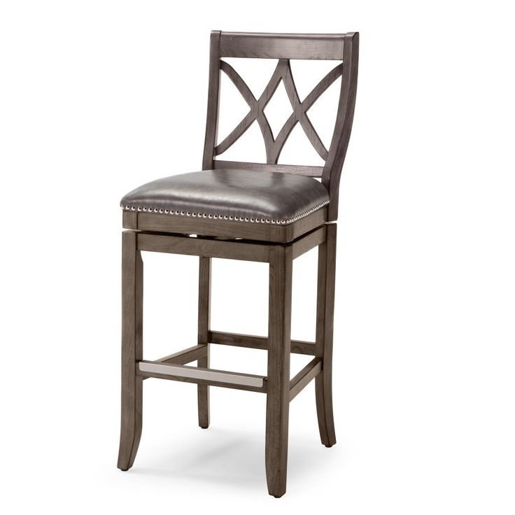 Awesome Marlow Nailhead Counter Stool