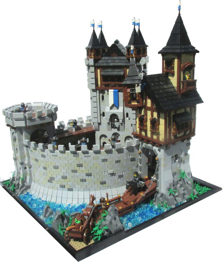 17 best images about lego castles on pinterest custom