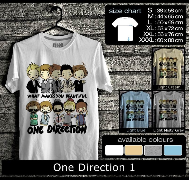 One Direction 1 - KAOS DISTRO ONLINE OCEAN SEVEN