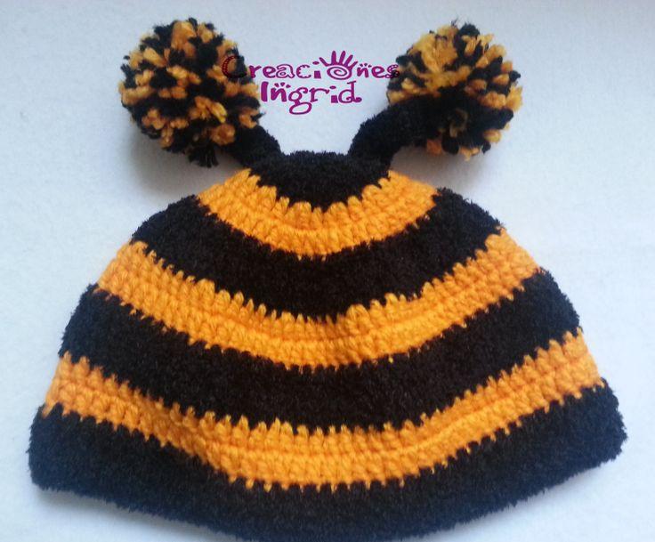 Gorro Abejita / Bee Crochet Hat