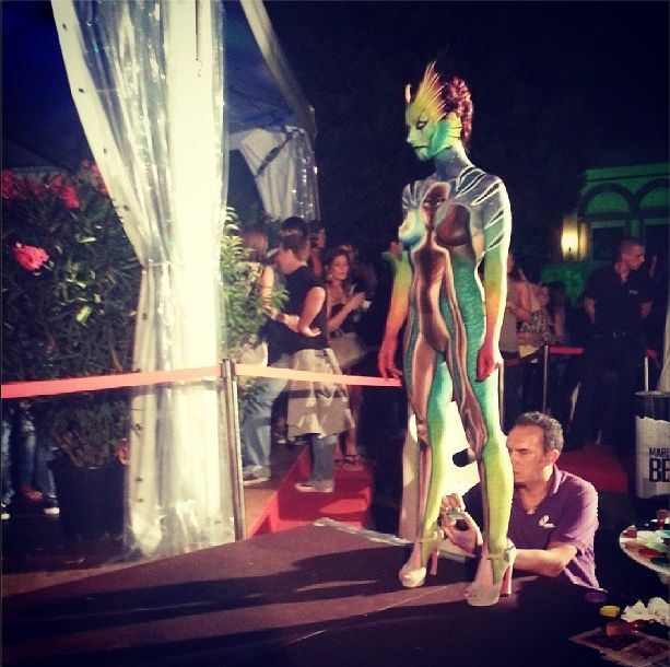Body painting ... #Locarno66