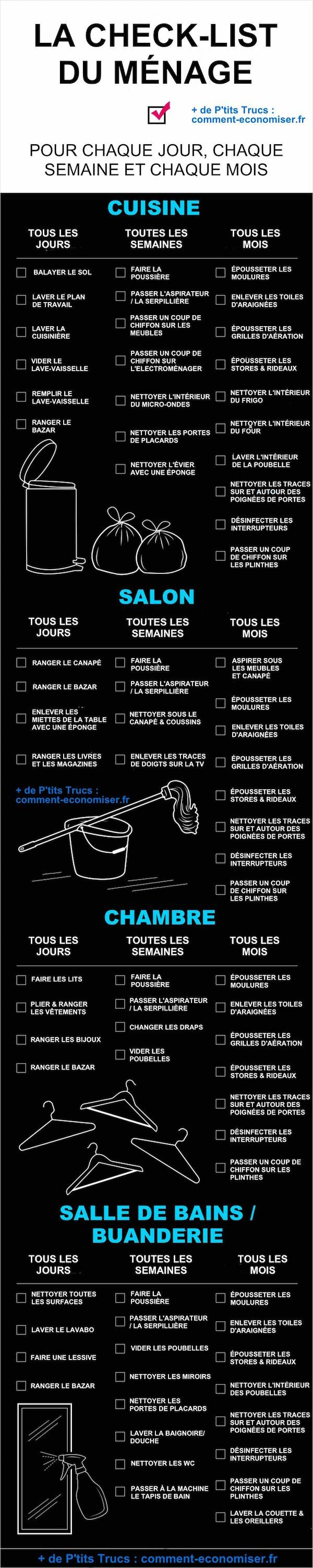 la to do list du ménage efficace