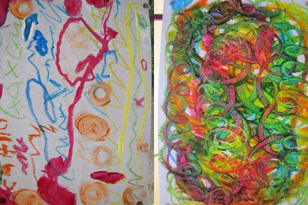 Melted Crayon Art - @Faith Patena, I know you love Crayon Art too