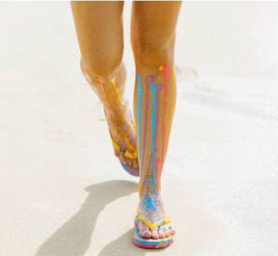 Run colorful. #Fr33EarthThongs #ColorTheWorldWithFr33EarthThongs #Colorful #Flip4Poverty #Fr33Earth #ThongLove