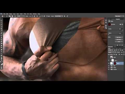 Speed Art: How to Pull Away Human Skin in Photoshop