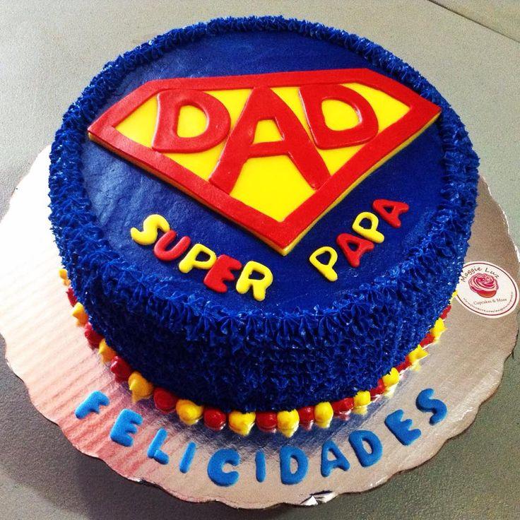 Pastel para un super papá!