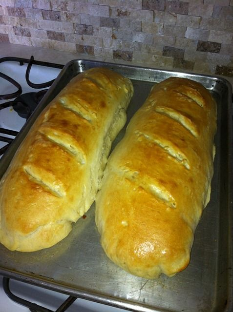 1 hour French Bread, from start until it's ready to eat! So easy and this one actually TASTES divine. So chewy and seriously decilious! I wouldn't lie to you. :D Fast, Cheap, and Easy