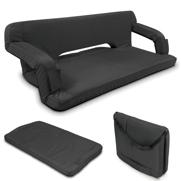 Portable Couch...perfect for any college apartment! Better yet...outdoor parties:)