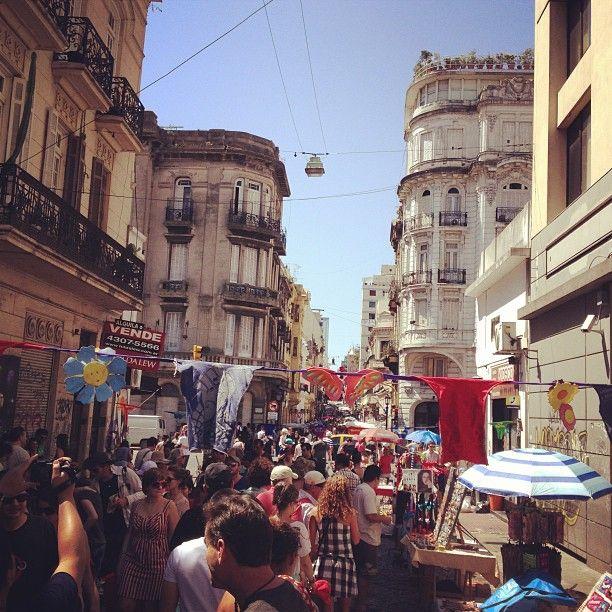 Feria de San Pedro Telmo em Ciudad de Buenos Aires, CABA