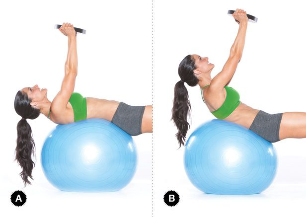 Image result for stability ball diver crunch