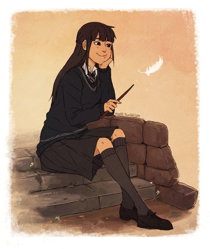 cho chang by http://nymre.tumblr.com/