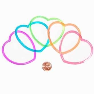 Heart-Shaped Jelly Bracelets - Small Toy for Girls