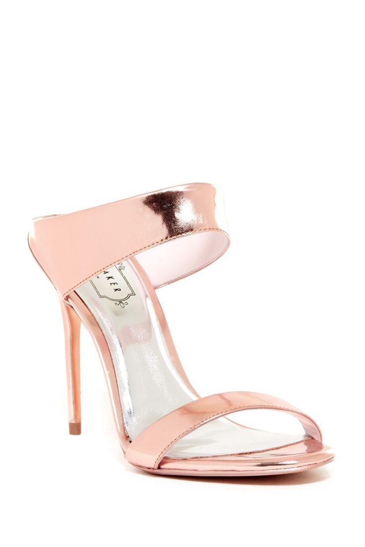Rose Gold Ted Baker London Chablise Heel. Yes please!