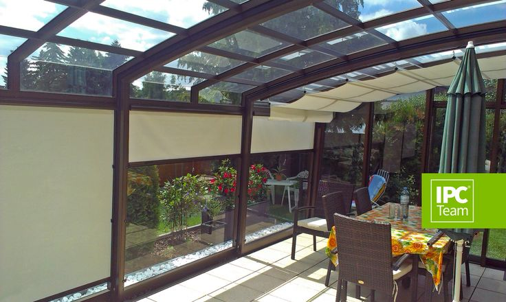 Patio enclosures can be fitted in with shading system