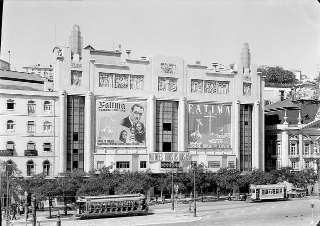 Cinema Éden, Lisboa, Portugal by Biblioteca de Arte-Fundação Calouste Gulbenkian, via Flickr