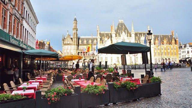 Tourist Attractions in Bruges, Belgium - Markt of Brugges