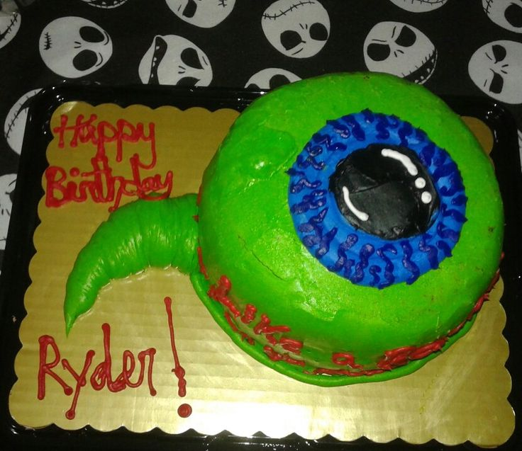 Ryders #jacksepticeye birthday cake. I think the Kroger Bakery lady did a fantastic job. With only a half a days notice she got this out to me and only charged 10.99. My birthday boy was over the moon about this silly cake. ♡