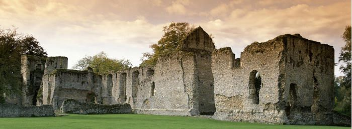 Bishop's Waltham Palace, Hampshire - English Heritage. Open daily, May to September.