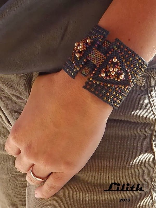 #Modern #Cuff -- edgy and bold, with a touch of rhinestones, of course! We love #GEMS