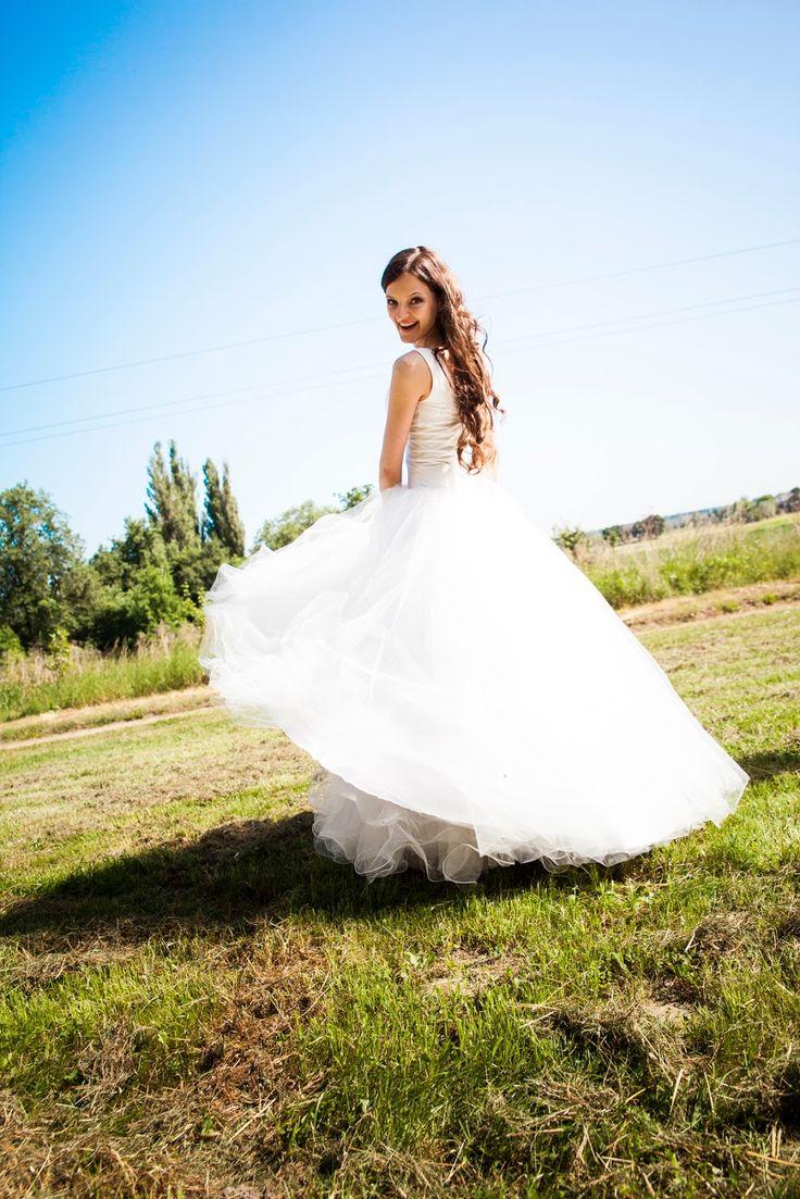 Moja suknia ślubna - przygotowania do szycia