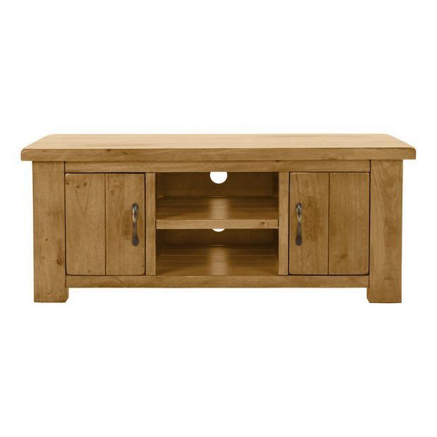 Buy Collection Arizona 2 Door Solid Pine Low Sideboard at Argos.co.uk - Your Online Shop for Sideboards and dressers, Living room furniture, Home and garden.