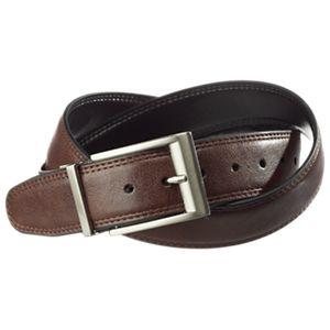 RedHead Genuine Leather Reversible Belt for Men - Brown/Black - 46