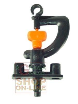 MINIRRIGATORE SPRUZZATORE GIREVOLE LT/H 150 GIALLO http://www.decariashop.it/irrigazione/11671-minirrigatore-spruzzatore-girevole-lt-h-150-giallo.html