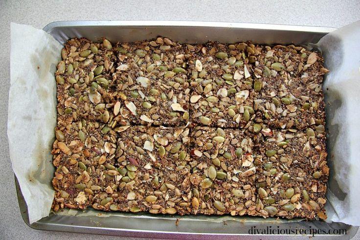 Healthy Crispbread #glutenfree #grainfree #lowcarb #keto #LCHF