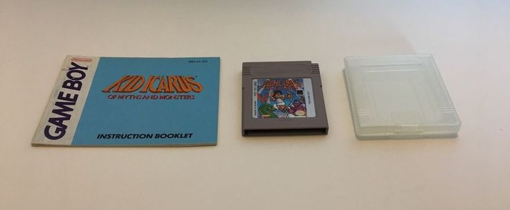 Kid Icarus Of Myths and Monsters 1991 Nintendo Game Boy With Case, Manual, WORKS #Nintendo #GameBoy #KidIcarus #OfMythsAndMonsters