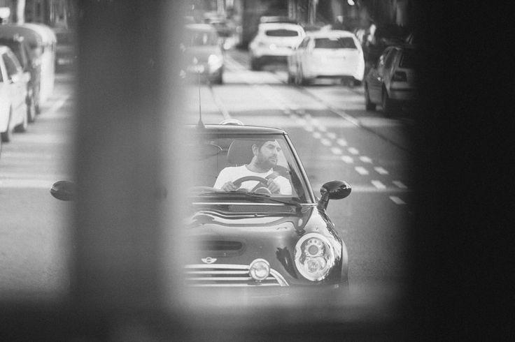 Mini in Barcelona streets