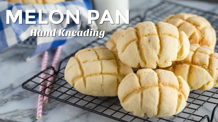 Melon Pan is a classic Japanese Kashi Pan, I'll show you how to make this delightful treat either by hand kneading or with a stand mixer. STAND MIXER Version...