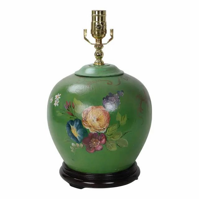 Table Lamps Hand Painted Porcelain Porcelain Painting Antique Table Lamps