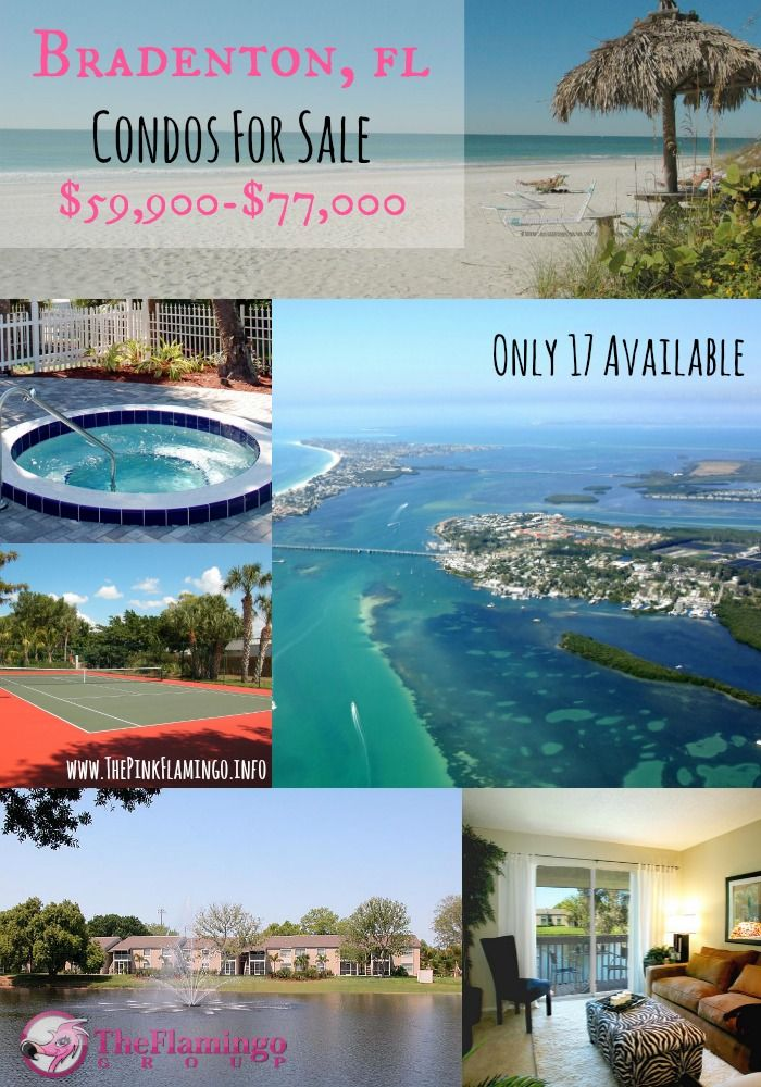 Vacation homes from $59,900 near the beach. Now that's what I call a deal!   #florida #realestate #condos #bradenton #annamariaisland