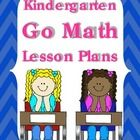 20% off Cyber Monday - These plans are for an entire year of Kindergarten math.  Plans are written so you may just add the date for the Go Math lesson you are teaching ea...