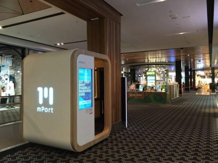 mPort 3D full body scanner