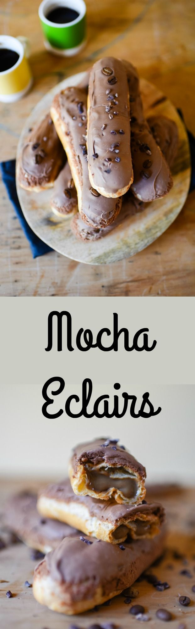 Mocha Eclairs | Patisserie Makes Perfect