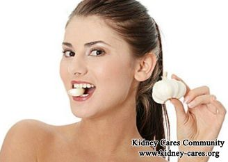 Lupus Nephritis patients can chew some raw garlic regularly and moderately