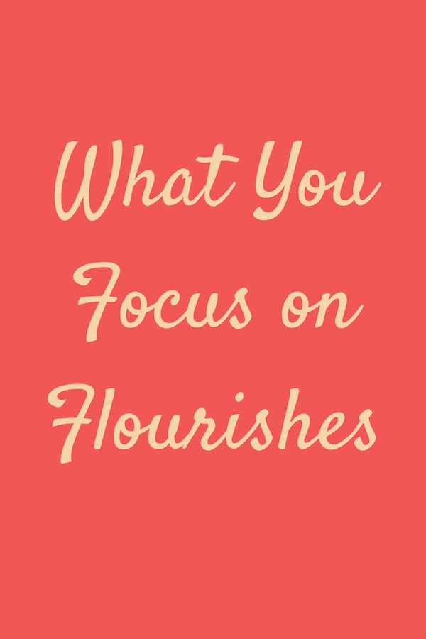 What You Focus on Flourishes It's a paradox: life is tough, but life is good too. Sometimes life is absolutely wonderful. What you focus on flourishes; so with that in mind, exploring the good life seems like a fabulous idea. <a class=