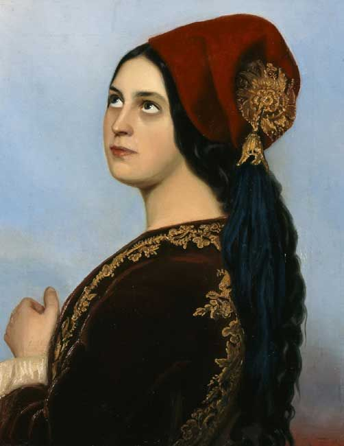 Greek Woman; Theodoros Vryzakis