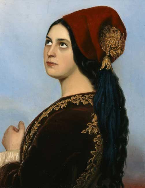 Greek Woman; Theodoros Vryzakis
