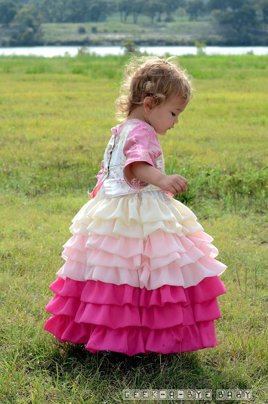 Kaylee Layer Cake Firefly Costume - oh so cute!