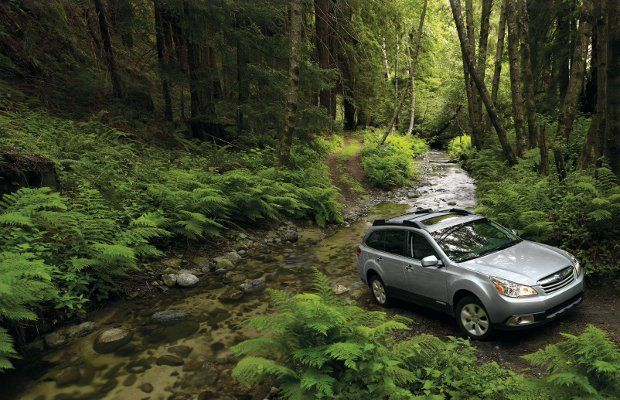 11th Best Off-Roader. Subaru Outback. Base Price: $23,295. Gnarly Features: Symmetrical AWD, good ground clearance. Subarus: not just for hippies and lesbians. Subaru offers good performance at a good price in a number of models. The proprietary AWD system takes what the company has learned from years of rally competition and applies it to the whole line.