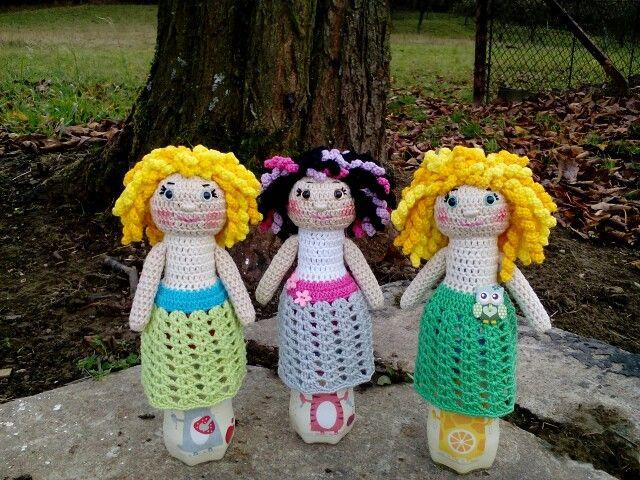 háčkované panenky/Crochet dolls
